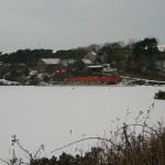 Kinghorn Loch Frozen Solid